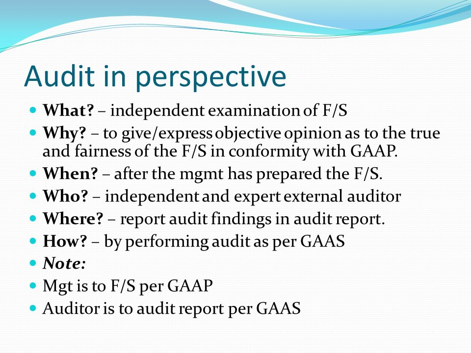 The nature and issues of audit - ppt video online download