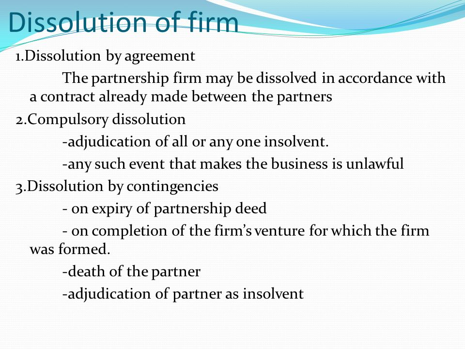 Business partner contract gildthelilyco – Partnership Dissolution Agreement
