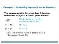 Printable Worksheets  Estimating Square Roots Worksheets ...