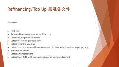 新山房屋再融资省利息/套现金 ( Refinance/Top Up Loan) Property Refinance Advisory - ppt download