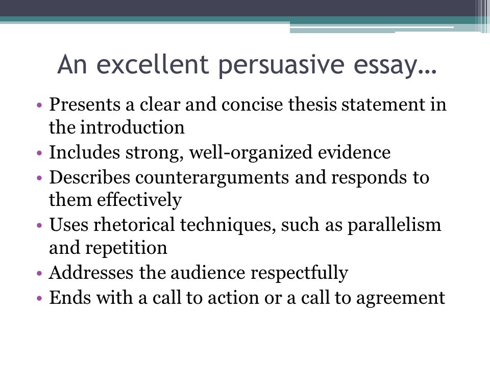 persuasive essay call to action examples