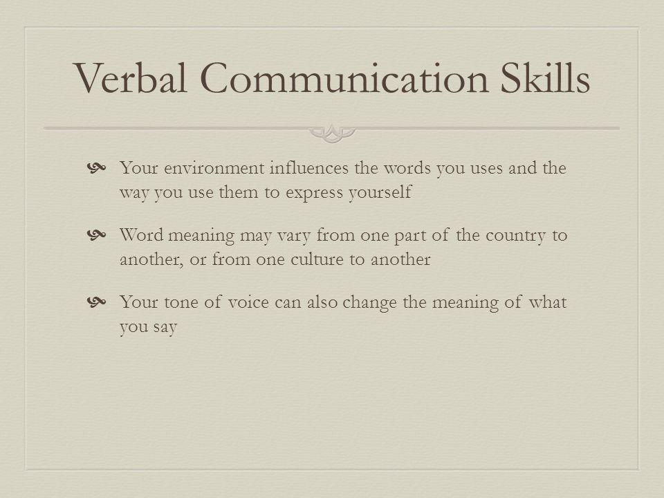 verbal communication skills - Apmayssconstruction