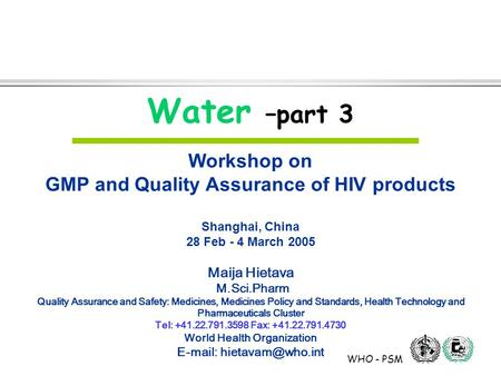 SOPs on Operation  Maintainance - ppt download