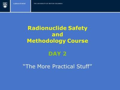 RADIATION SAFETY TRAINING - ppt download