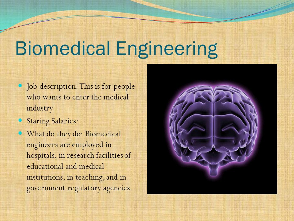 The Six Disciplines Of Engineering - ppt video online download - biomedical engineering job description