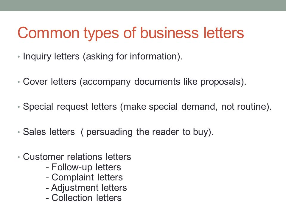 Business Letter For Inquiry Gallery Letter Examples Ideas