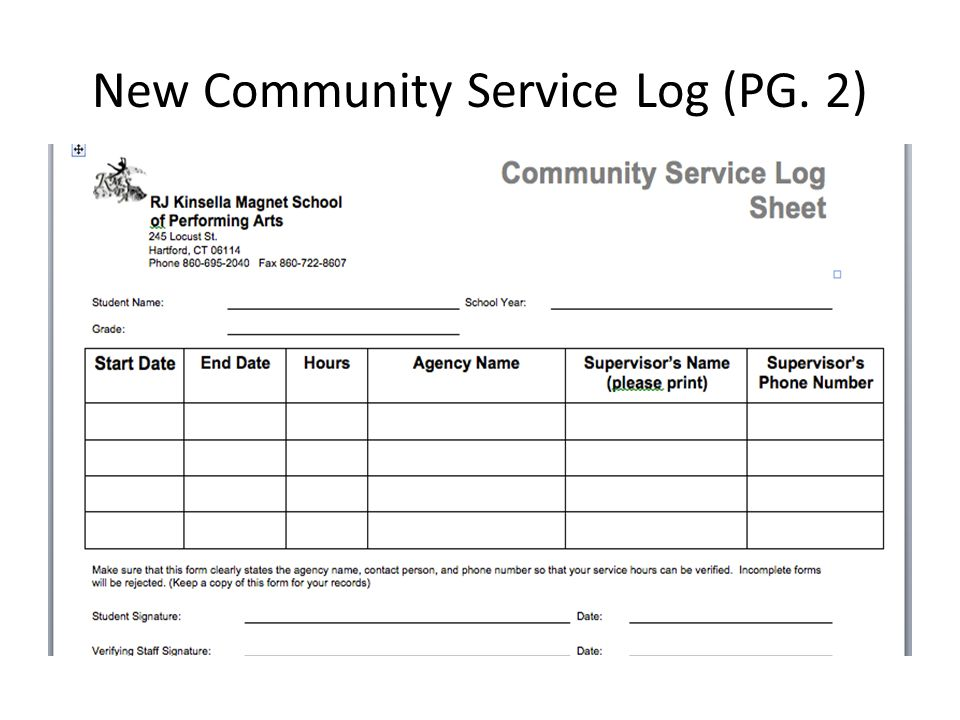 Magnificent Community Service Log Sheet Template Adornment - Resume