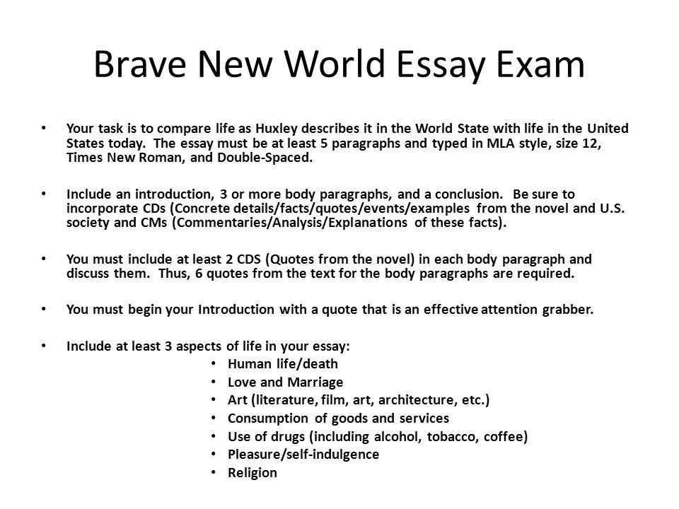 Huxley plato comparison on education essay - Essay Sample