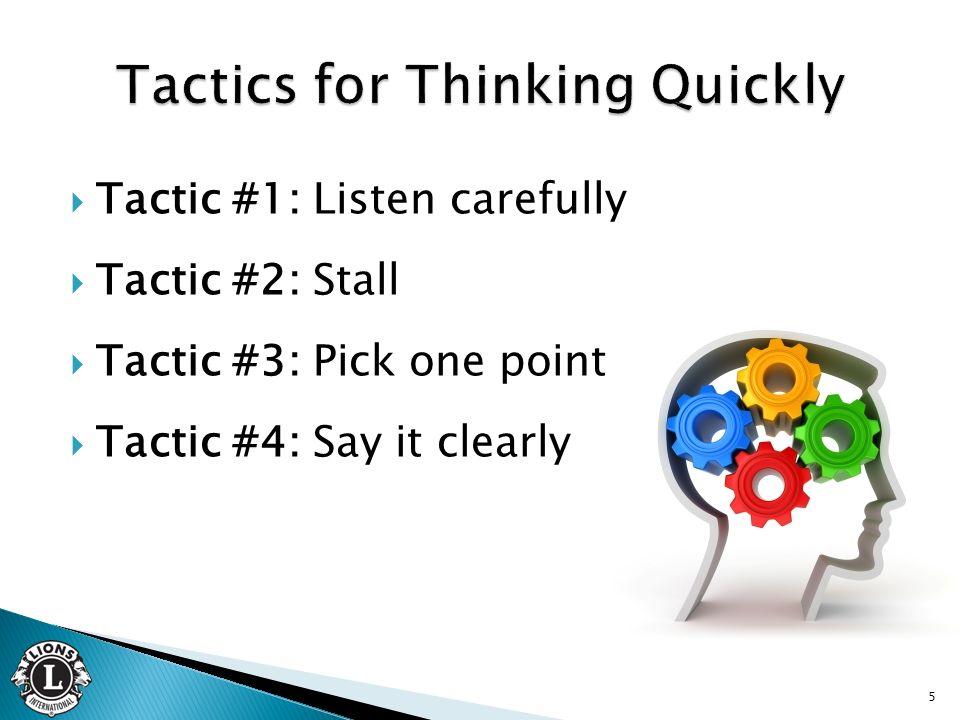 Objectives Recognize benefits of impromptu speaking - ppt video - impromptu speech template