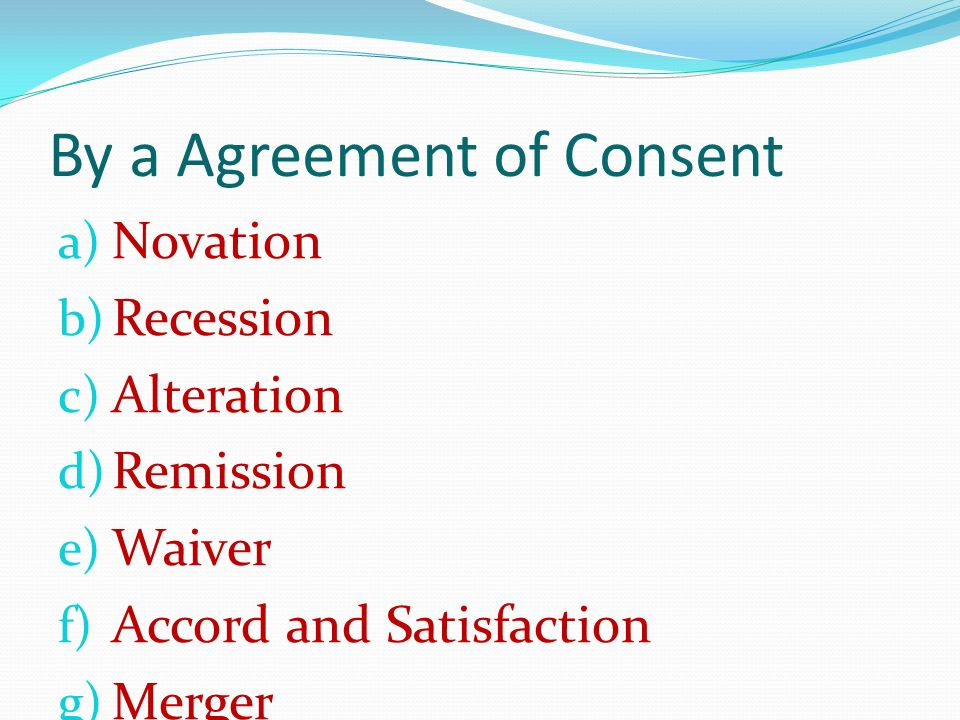 Novation Agreement What Is An Assignment Notice Novation - sample novation agreement
