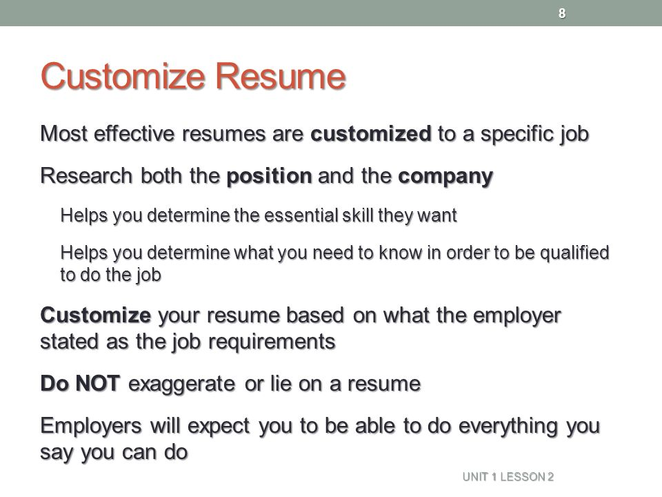 most effective resumes - Minimfagency