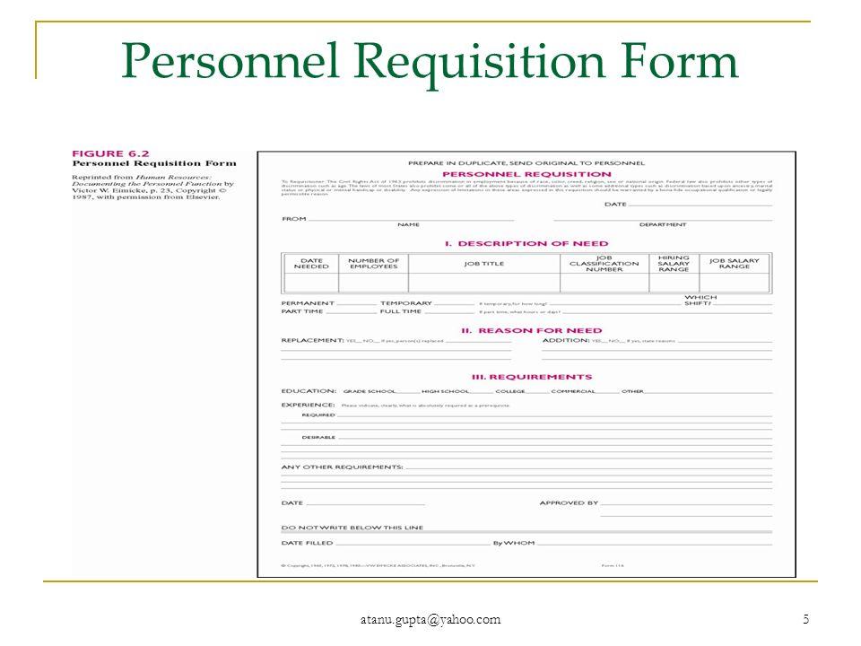 personnel requisition form sample - Josemulinohouse - sample requisition form