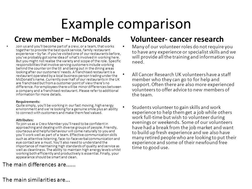 Mcdonalds Staff Member Job Description \u2014 6photo