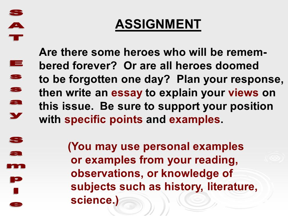 ... How To Write A Summary Analysis And Response Rhetorical Analysis    Response Essay ...