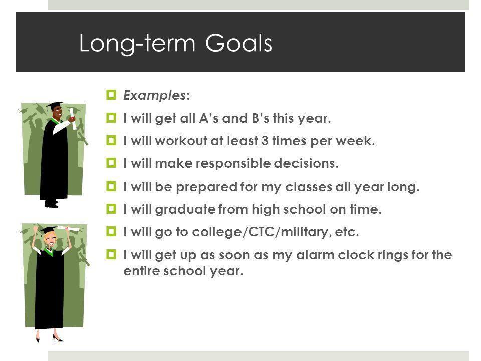 examples of short term professional goals short term professional