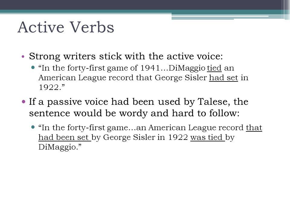 Active Verbs - Bestproud - active verbs