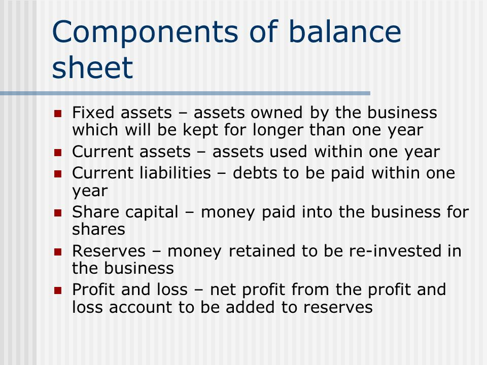 Components Of Balance Sheet 3 year balance sheet - baskanidai the