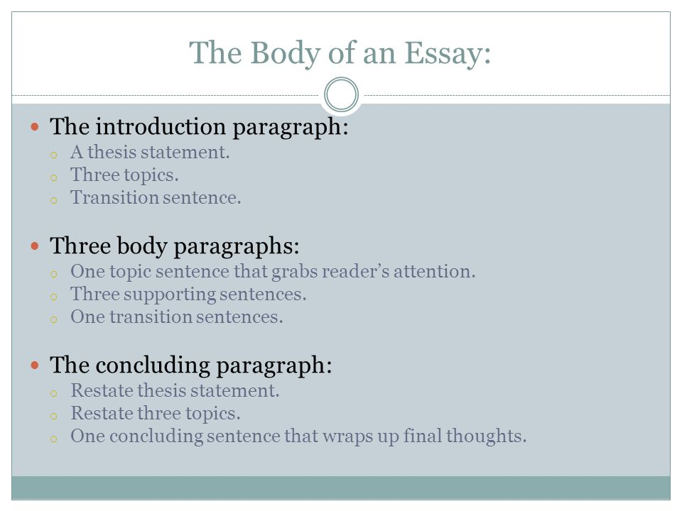 Essay Topic Sentence Generator - Essay Generator