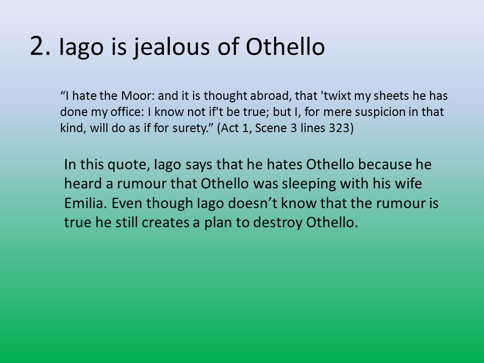 Jealousy Quotes Iago Jennies Blog Othello Quotes About