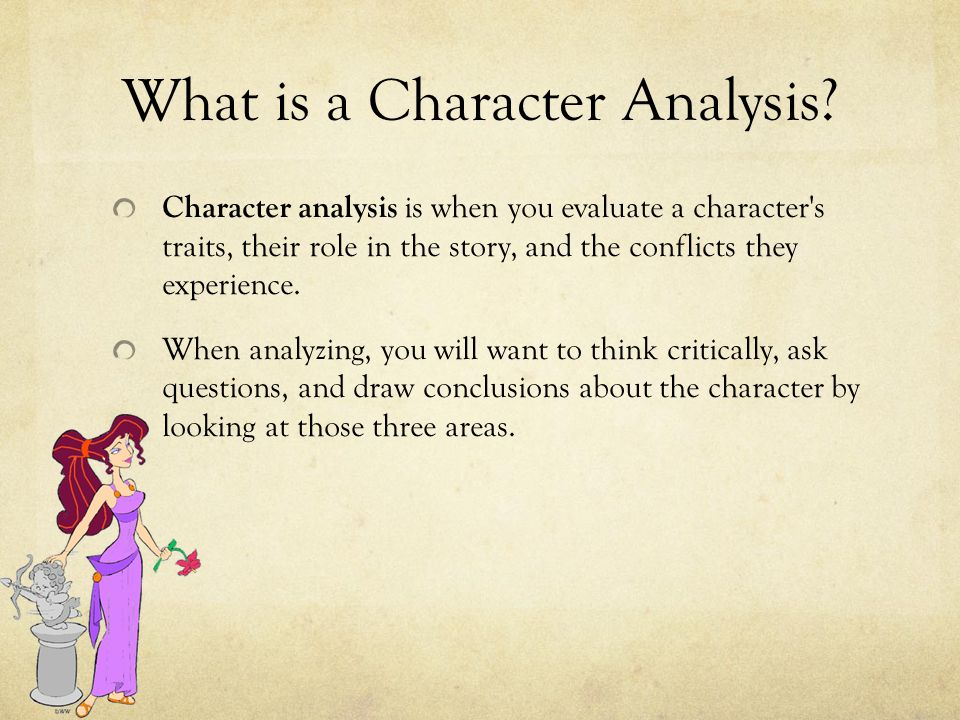 Writing a Character Analysis Essay - ppt download - character analysis