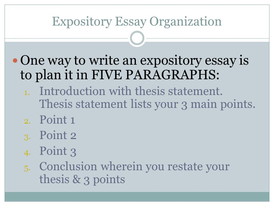 Thesis statements for expository essays - 100 Original - expository essays