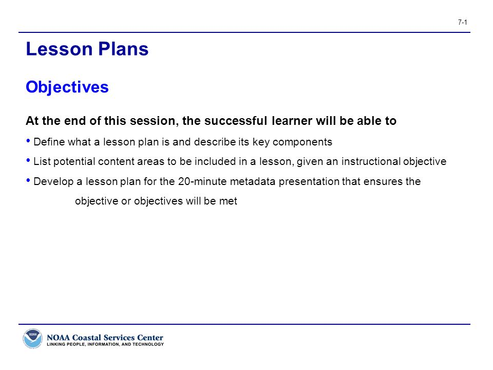 Lesson Plans Objectives - ppt video online download