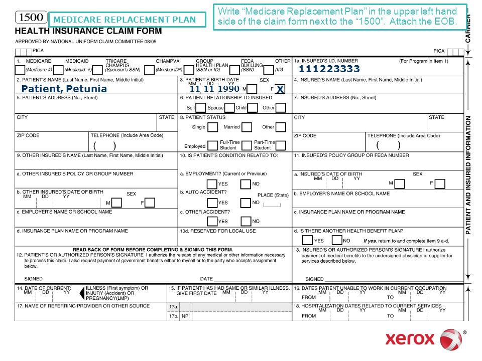 medicare claim form | lukex.co