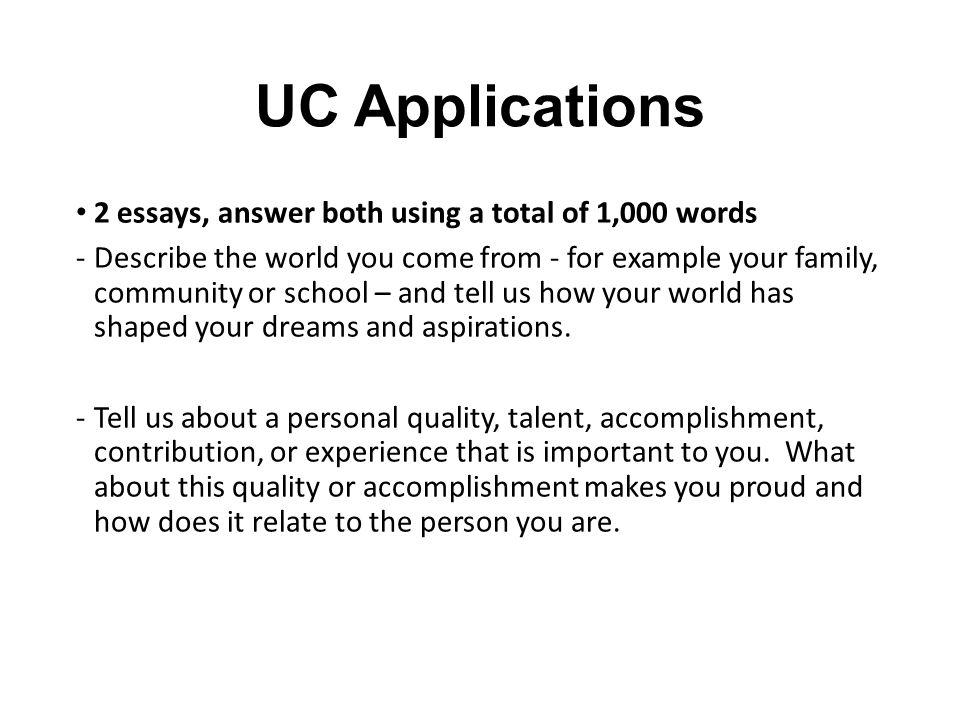 Uc Application Essays cvfreepro