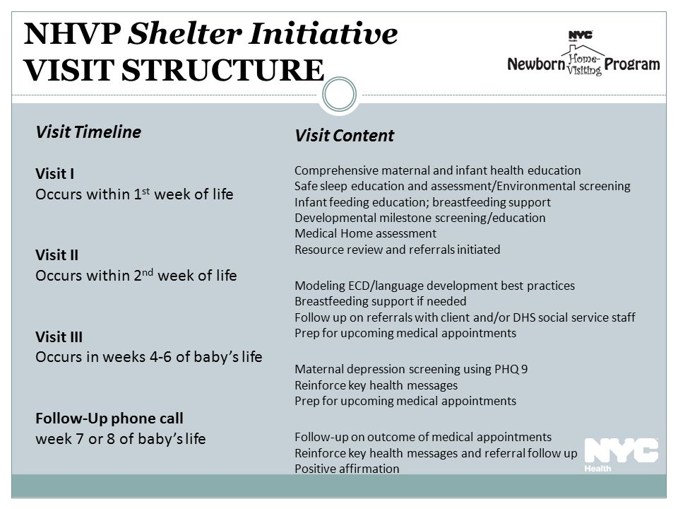 Newborn Home Visiting program-Shelter Based Initiative - ppt download - baby milestone timeline