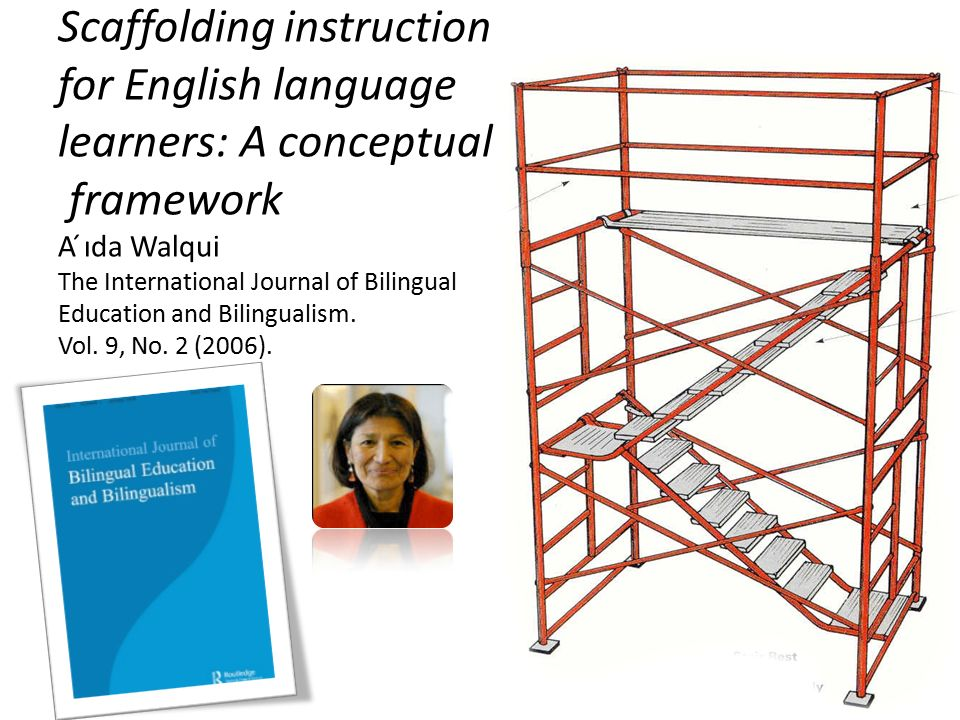 Scaffolding instruction for English language learners A conceptual
