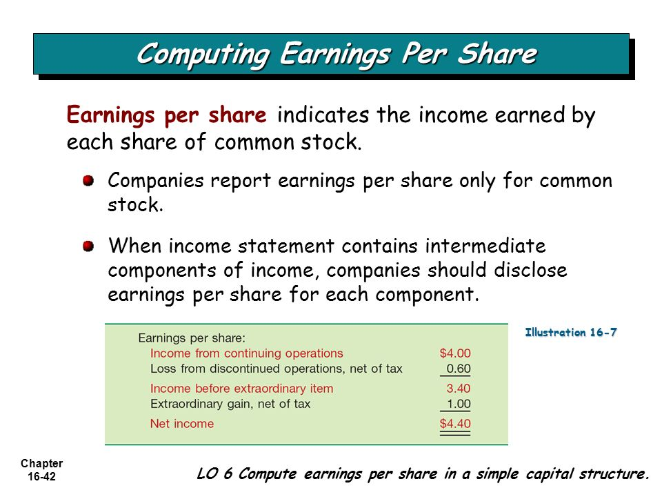 Images of Earnings Per Share Income Statement - #rock-cafe