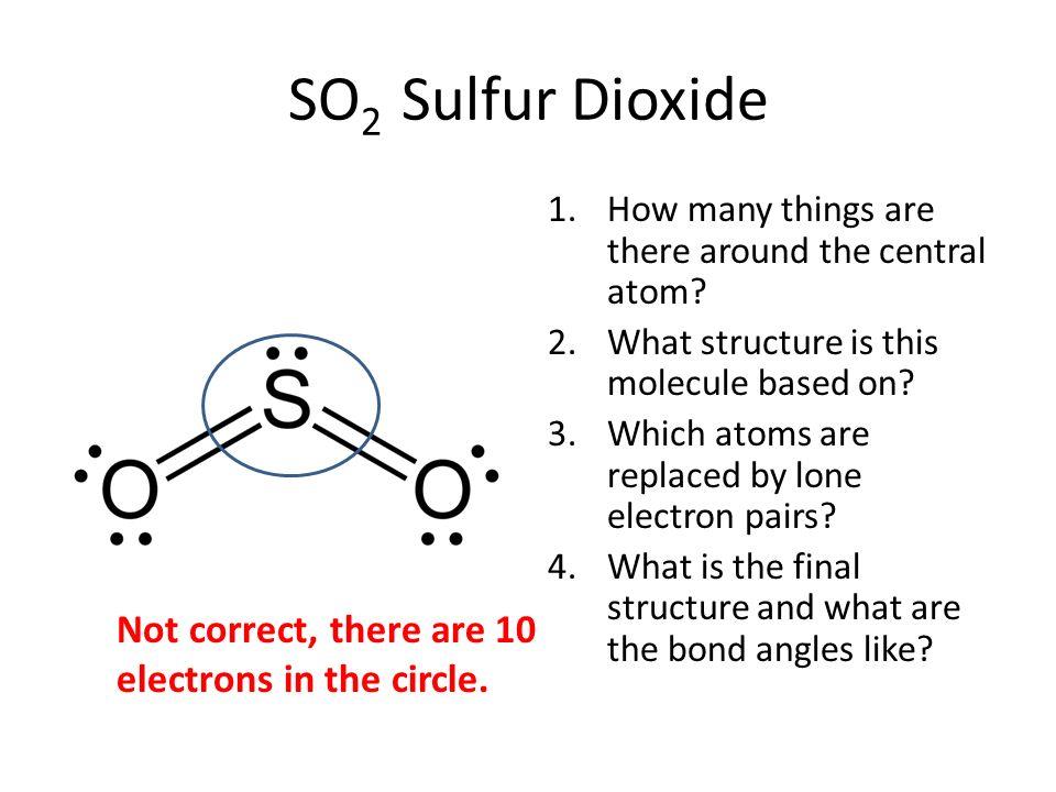➤ Diagram Diagram Of So2
