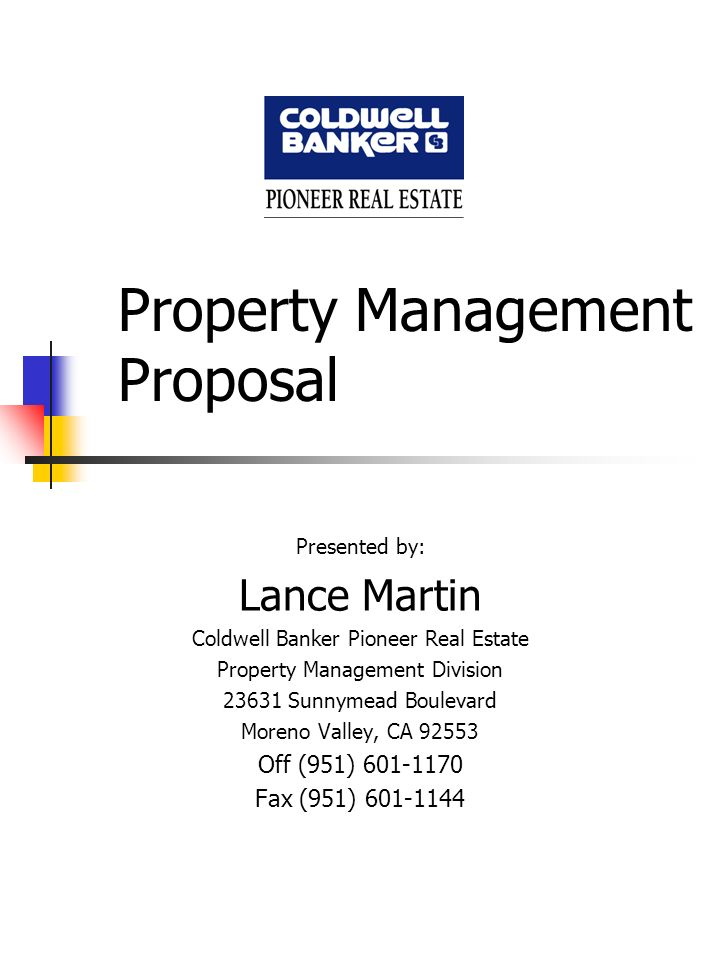 Management Proposal Project Management Thesis Proposal Dissertation - property management proposal template