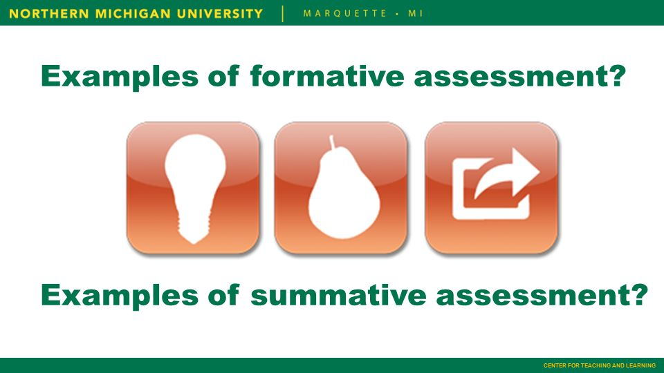 Formative Assessment Ideas Tools And Resources Different Examples Of
