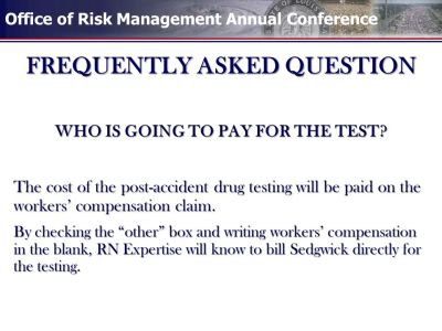 POST-ACCIDENT DRUG TESTING - ppt video online download