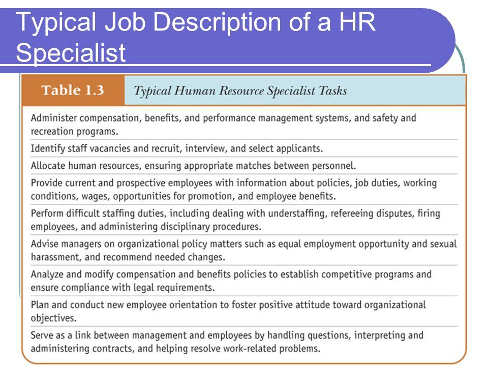 Creating Value through Human Resources - ppt video online download - human resources job description
