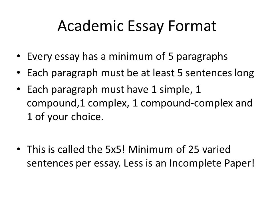 ACADEMIC ESSAY FORMAT And The Oreo Cookie - ppt video online download - academic essay