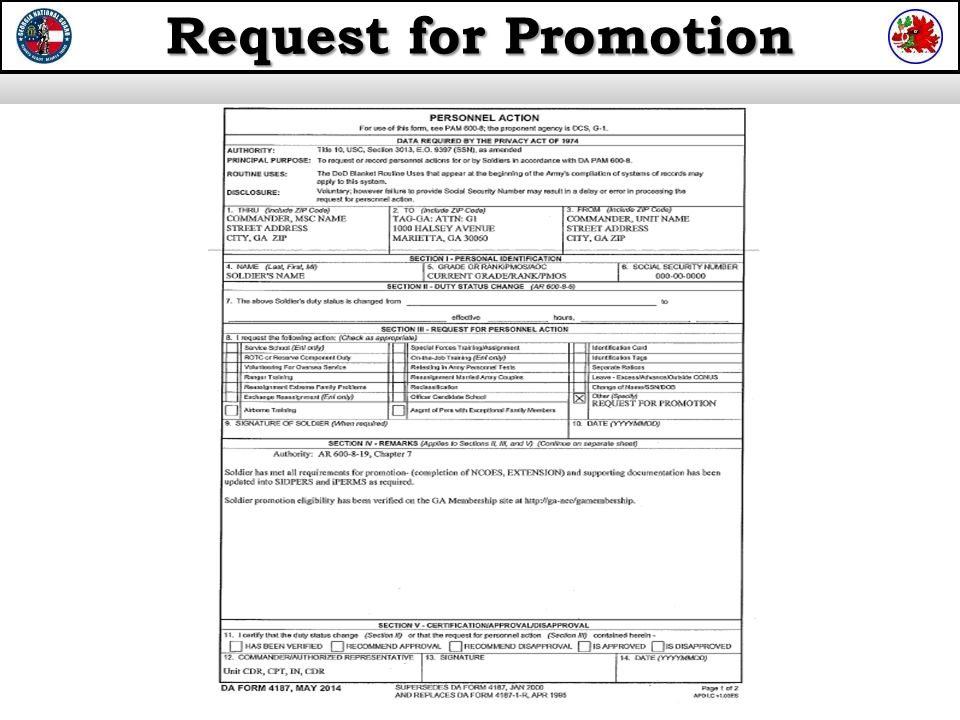 request for consideration for promotion - Josemulinohouse - request for promotion consideration