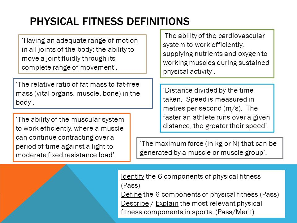 Components of physical fitness - ppt video online download - components of fitness
