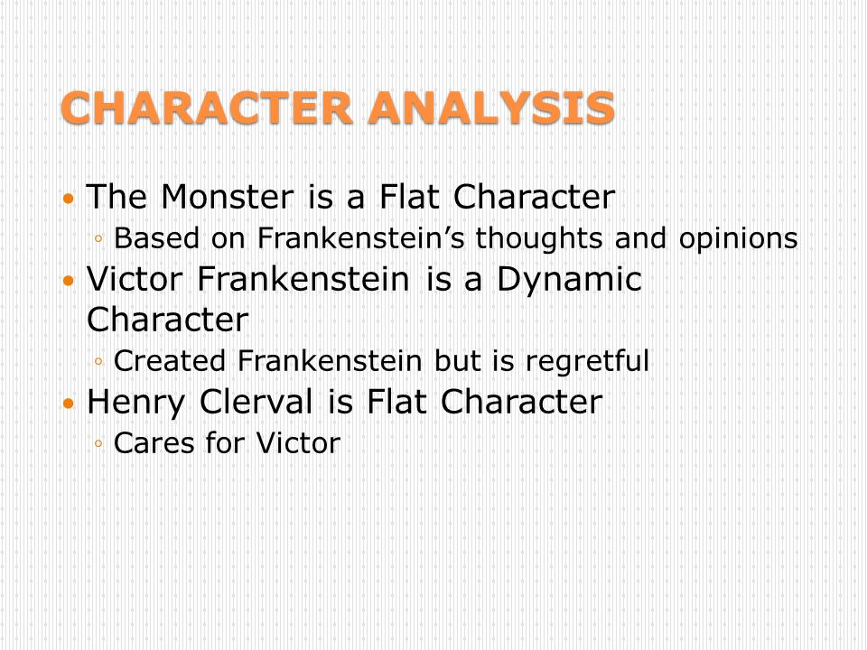 Frankenstein x character analysis Homework Writing Service