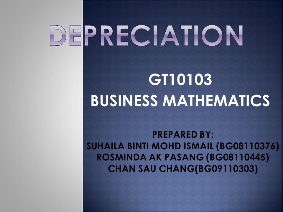 GT10103 BUSINESS MATHEMATICS - ppt download - business math