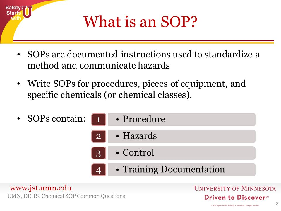 ... Standard Operating Procedures   Ppt Download   Why Sop Is Used ...