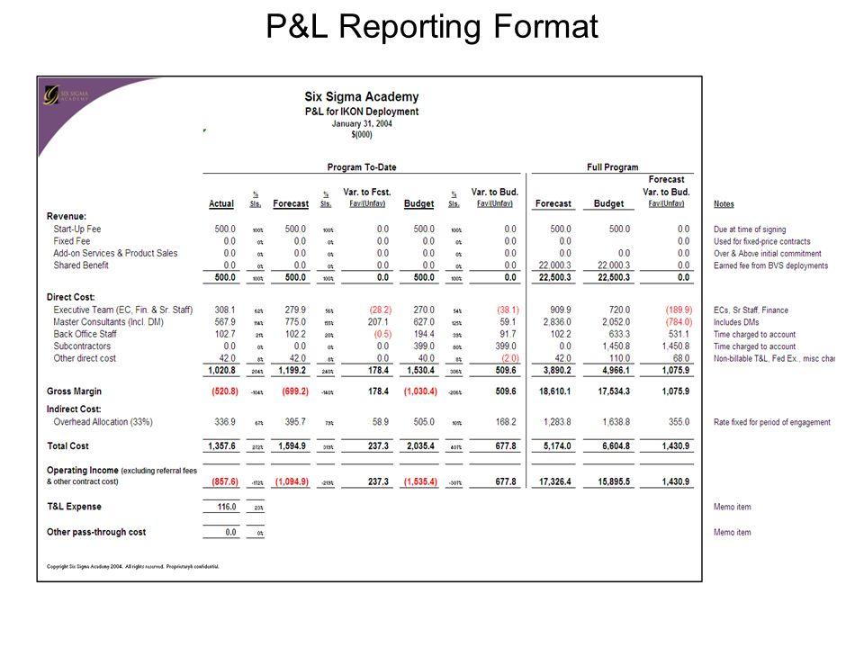 p and l report template 3slufsluidsprekers