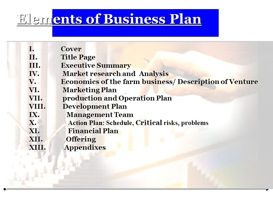 Elements of Business Plan - ppt download - business plan elements