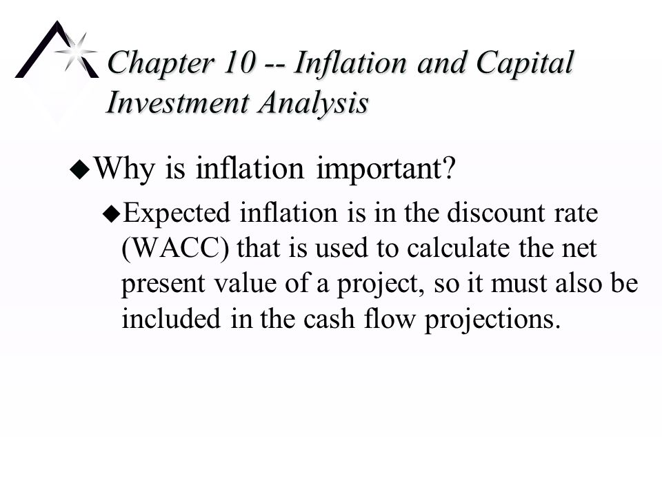 Chapter Inflation and Capital Investment Analysis - ppt download - investment analysis