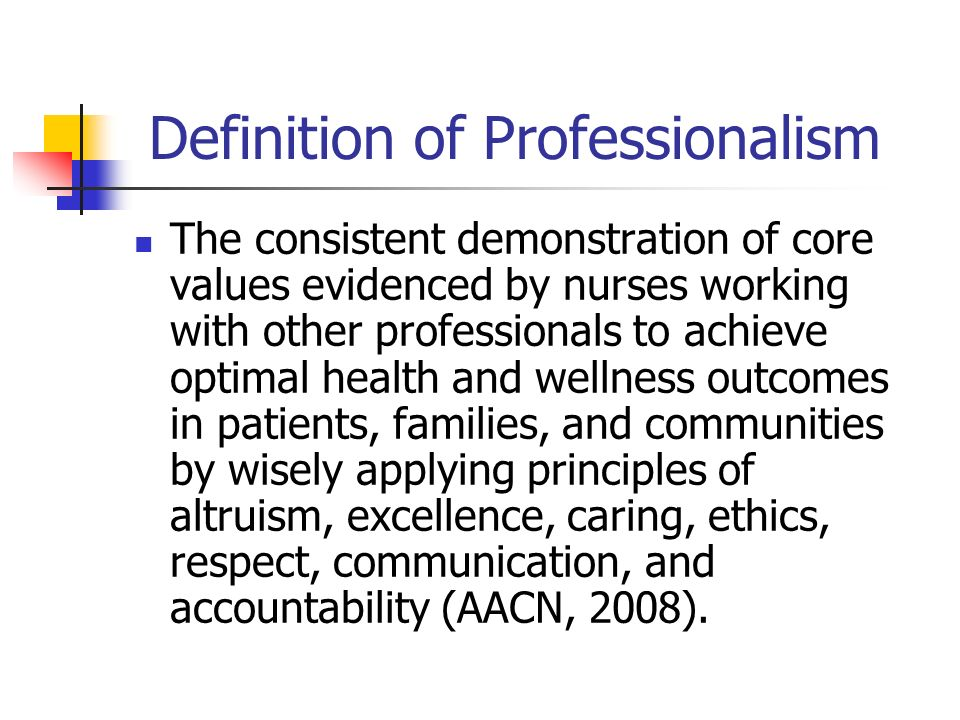 Nursing as a Profession - ppt video online download
