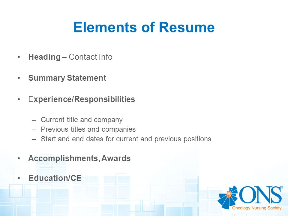Resume Writing Workshop Creating a Winning Resume - ppt video