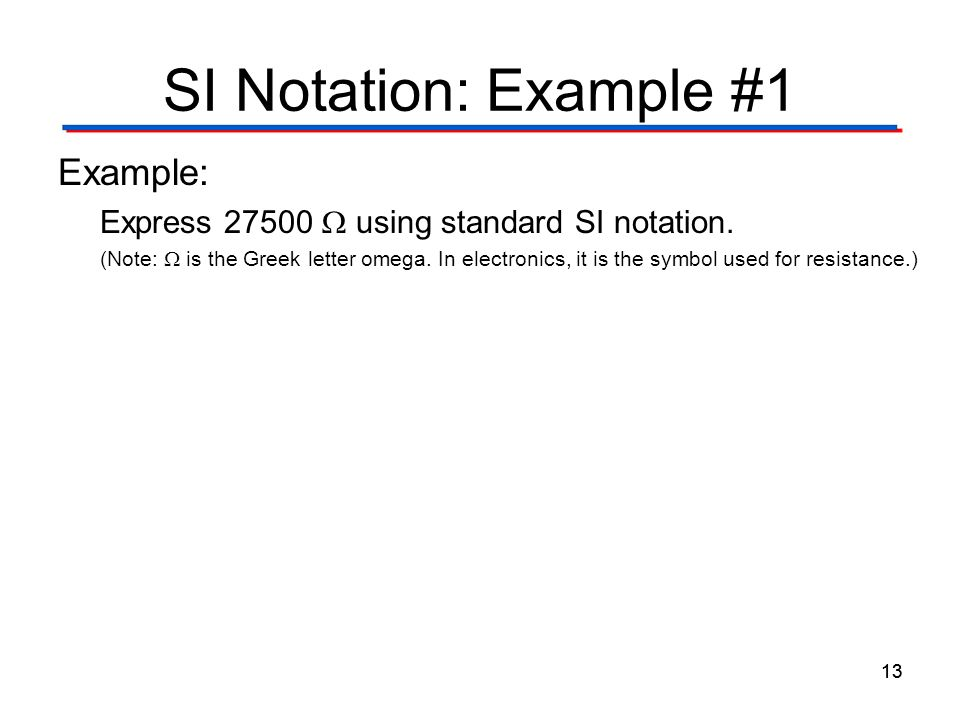 Scientific  Engineering Notation - ppt download