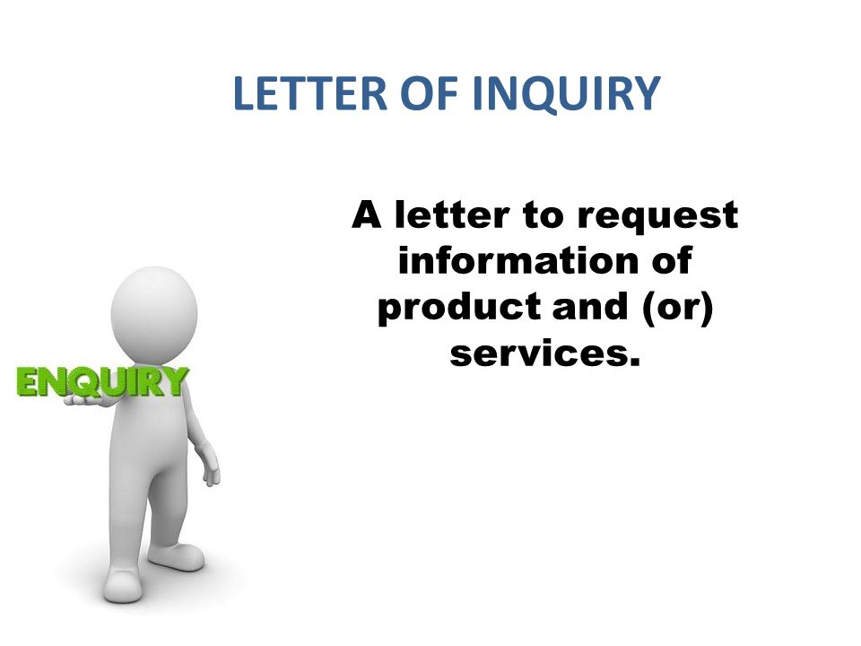 Request letters - ppt download
