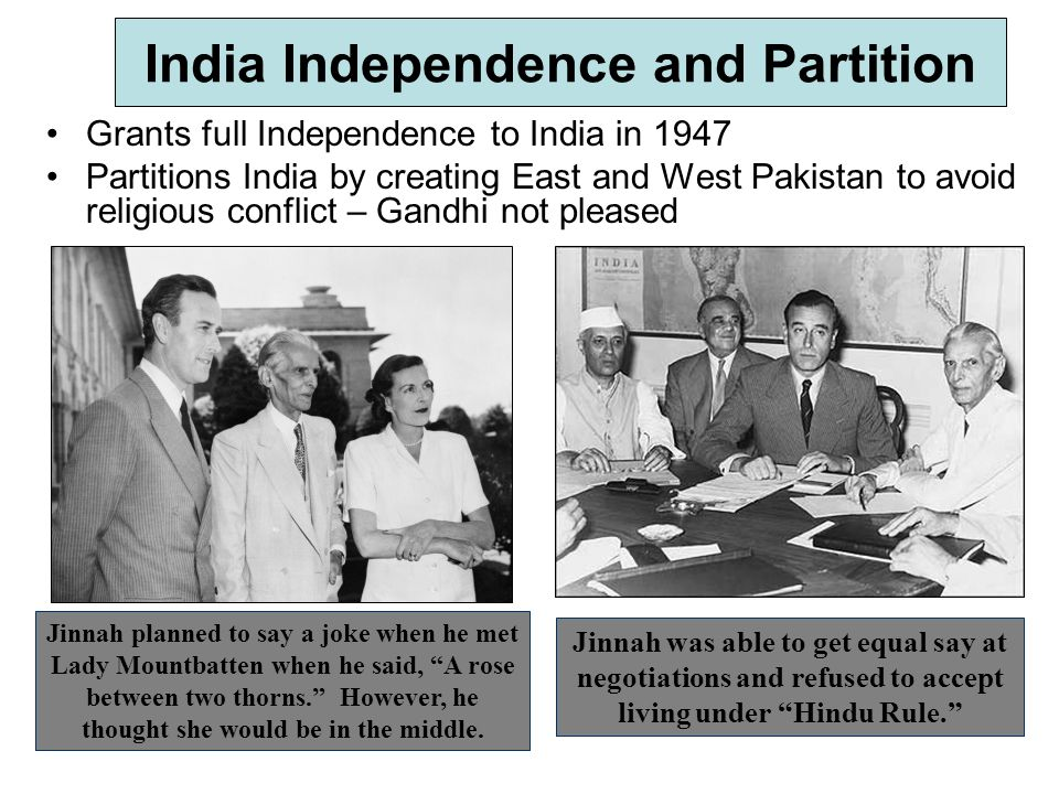 Indian Independence and Partition - ppt video online download